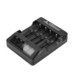 Оригинал XTARVP4LCDДисплейБыстроезарядное устройство для 18650 16340 Li-ion Батарея 4 разъема EUPlug