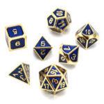 Оригинал Античный цвет Твердый металл Heavy Кости Set Polyhedral Кости Ролевые игры Кости Gadget RPG