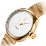 Оригинал SKK0029Повседневныйстильизнержавеющей стали Женское Кварцевые часы