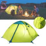 Оригинал TrackManTM1218Наоткрытомвоздухе 2 Человек Кемпинг Палатка с двумя слоями 82.6x55x43.3inch 3 Сезонные туристические палатки