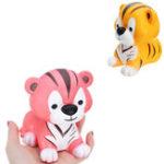 Оригинал Squishy Tiger 12 * 11 * 10 см Sweet Soft Медленная роспись Коллекция подарков Декор Игрушка