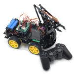Оригинал DIY meArm Robot Arm Авто для программы Ardunio с PS Wireless Дистанционное Управление