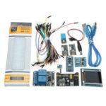 Оригинал Nano V3 Климат Монитор Набор С 1.8 дюймов TFT GY-68 BMP180 DHT11 Релейный модуль RTC для Arduino