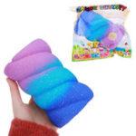 Оригинал Оранжевый 14CM Soft Хлопок Candy Marshmallow Toys Медленный Rising Phone Straps Fun Kid Подарок с упаковкой