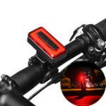 Оригинал XANESSTL04120LMCOBLightДатчик 7 режимов Водонепроницаемы 500mAh USB аккумуляторная батарея для задних фонарей