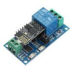 Оригинал Обновление 5V ESP8266 WiFi Relay IoT Smart Home Phone APP Дистанционное Управление Switch