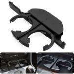 Оригинал ПередняялеваяручкапереднейконсолиABS Черное крепление для держателя чашек для BMW E39 525 528 530 540 M5