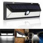 Оригинал 54 LED Солнечная Powered Motion Датчик Light Водонепроницаемы Security Wall Лампа для На открытом воздухе Сад Yard Path