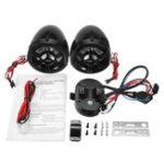 Оригинал 12V Водонепроницаемы мотоцикл MP3 Speaker Stereo Радио Система с функцией Bluetooth
