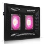 Оригинал Внутренниерастения200WDoubleCobLED Grow Light Full Spectrum Ultra-Thin Водонепроницаемы Рост роста Лампа