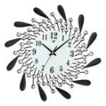 Оригинал Современный стиль Diamond 3D Art Wall Часы Non-Ticking Бесшумный Движение для домашнего офиса