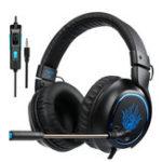 Оригинал Sades R5 Gamer PC Игровая стереогарнитура с регулятором громкости Микрофон