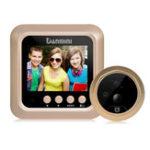 Оригинал 2,4 дюйма LCD TFT HD Дверной звонок дверного зрачка для глазного зрителя IR камера Обнаружение движения