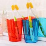 Оригинал Держатель для зубной щетки Главная Antiscale Инновационная полоска для полоскания зубов Зубная щетка для зубных щеток для Ванная комната Набо