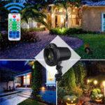Оригинал RG LED Лазер Проектор Сценический свет Дистанционное Управление Прожектор Moving Лампа для На открытом воздухе Пейзаж