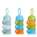 Оригинал GL 3 Layer Portable Newborn Milk Formula Powder Коробка Контейнер для хранения детского питания PP Продовольственные товары для безопасного хранения продуктов