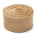 Оригинал 50мм натуральный джут гессен Burlap Ribbon Roll Винтаж Свадебное Party Decor Craft Ремень Ремень