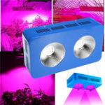 Оригинал 600 Вт Полный спектр COB LED Grow Light Indoor Hydroponics Plants Лампа Панель ламп AC85V-265V