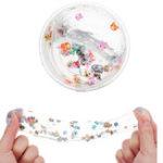 Оригинал Clear Kawaii 50G DIY Цветной сливочный слизи Фруктовый салат Fimo Crystal Putty Gift Toy