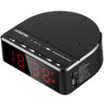 Оригинал LEADSTARMX-17ПортативныйбеспроводнойBluetoothДинамик LED Тревога Часы TF-карта FM Радио Сабвуфер