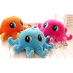 Оригинал Симпатичные плюшевые игрушки Осьминоги Фаршированные животные Soft Плюшевые Кукла Случайные цвета
