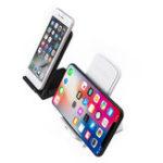 Оригинал 9V Qi Быстрое зарядное устройство для мобильного телефона с зарядным устройством для iPhone X 8 Plus S8 S9 Note 8