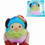 Оригинал Squishy Oversized Strawberry Sheep Slow Rising Jumbo Rainbow Galaxy Color Toy Подарочная коллекция