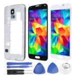 Оригинал Полная сборка LCD Дисплей + сенсорный экран Замена и ремонт дигитайзера Набор для Samsung Galaxy S5