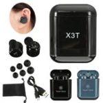 Оригинал [True Wireless] X3T TWS Двойной Bluetooth Наушники Стерео Touch Control Earbuds с зарядкой Коробка