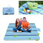Оригинал обходчикTM64091145x1801CMНаоткрытомвоздухе Портативный коврик для пикника Oxford Кемпинг Pad Blanket