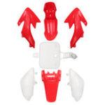 Оригинал Пластиковый брызговик Набор Обтекатель A3 Для Honda XR50 CRF50 SSR SDG 107 110 125 Pit Bike