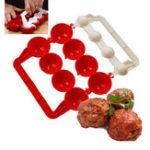 Оригинал HonanaKT-442Креативныйпроизводительфрикаделькидля пищевой промышленности Мячи для пластиковых рыбных шаров DIY Мягкий мясной