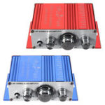 Оригинал Mini Amplificateur DC 12V Hi-Fi SNR 85dB 20Hz-20kHz Power Stereo Усилитель