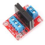 Оригинал 10Pcs One way Твердотельный релейный модуль для Arduino