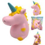 Оригинал Areedy Squishy Baby Unicorn 14cm * 10cm * 8cm Super Slow Rising Cute Розовый Ароматизированный оригинальный пакет