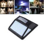 Оригинал 35LED Солнечная Powered PIR Motion Датчик Стена Лампа Водонепроницаемы Уличный свет безопасности для На открытом воздухе Сад