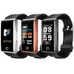 Оригинал Mate1 Цветной экран Сердце Оценить кислородное давление Bluetooth Позвоните Водонепроницаемы Спорт Smart Bracelet