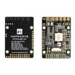 Оригинал Matek FCHUB-W PDB 3-6S Встроенный 4 BEC и 104A Текущий Датчик для RC FPV Racing Дрон