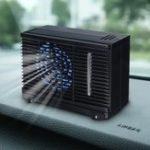Оригинал 12V / 24V 35W Двойной вход Mini Air Cooler Fan Water Ice Испарительный портативный кондиционер для летнего дома Авто Охлаждение