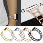 Оригинал Замена браслет браслет металлический наручные часы Стандарты для Fitbit Ionic
