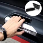 Оригинал ПарыПластиковыевнутренниебоковыедвериПодлокотники для хранения ручек Коробка Держатель для Ford Mustang 2015-2017