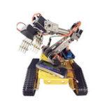 Оригинал DoArm S7 7 DOF Robot Tank Авто Шасси с металлическим роботизированным рукояткой манипулятора для Arduino