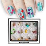 Оригинал Ногти Художественное оформление 3D сухие сушеные цветы