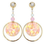 Оригинал JASSY® Luxury Crystal Pearl Серьги Позолоченный круг
