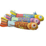 Оригинал Fish Interactive Crackle Fancy Catnip Cat Игрушка, тренирующаяся Colorful Fish Cat Mint Забавные игрушки для кошки