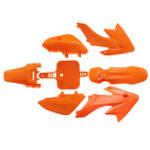 Оригинал Fender-Fairing Набор Orange Для Honda CRF XR 50 CRF50 125 SSR SDG 107 Pit Bike