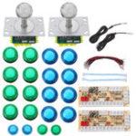 Оригинал Colorful LED Джойстик Push Button USB Encoders Аркадный игровой контроллер DIY Набор