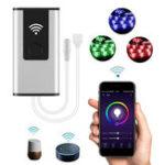 Оригинал DC12V / DC24V 3A WiFi Дистанционный Контроллер для RGB Single Color LED Поддержка полосы света Alexa Google Home