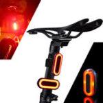 Оригинал XANES2штSTL03100LMIPX8Режим памяти: предупреждение о велосипеде Задняя лампочка 6 режимов 1200mAh USB зарядка 360 ° вращения