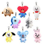 Оригинал Plush Cute Кукла Key Chain Creative Animal Брелок Кулон